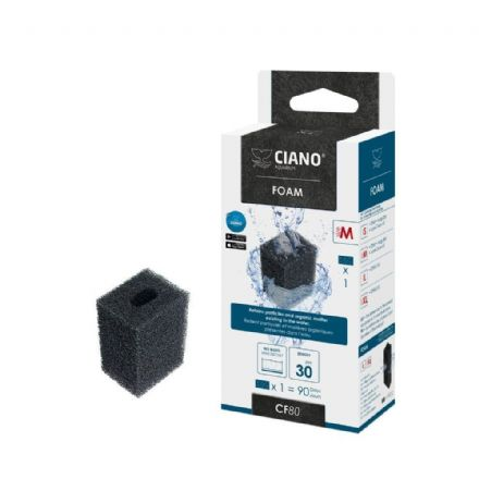 Ciano Aquarium Filter Media - Foam M / CF80